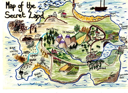 Secret Land Poster